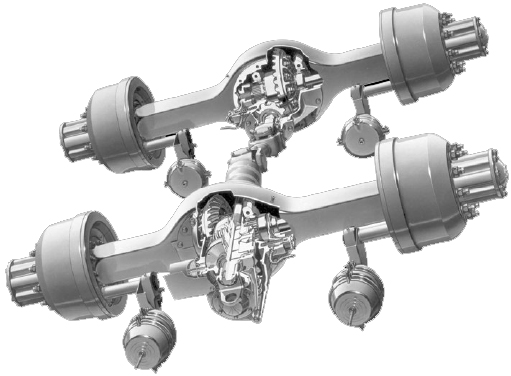 Meritor axle assemblies for sale