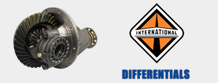 rebuilt international differentials