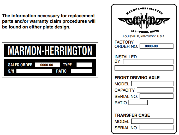Marmon-Herrington identification